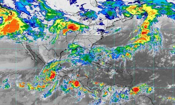 El huracán Rick avanza hacia las costas de Michoacán; prevén que impacte este lunes