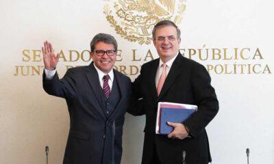 El canciller Marcelo Ebrard afirma que es importante que haya 'piso parejo' en el proceso interno rumbo a las elecciones de 2024