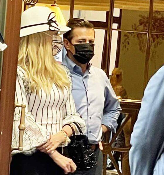 Captan a Peña Nieto en hotel de Roma, Italia