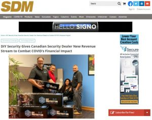 DIY Security Gives Canadian Security Dealer New Revenue Stream to Combat COVID's Financial Impact