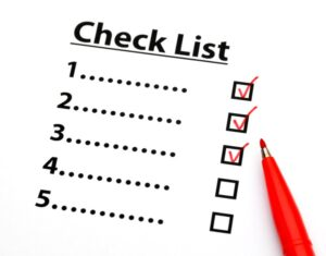TELUS Home Security System CheckList