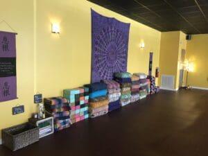 Yoga studio tenant improvements