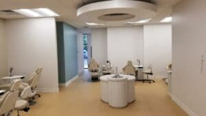 Orthodontic office buildout