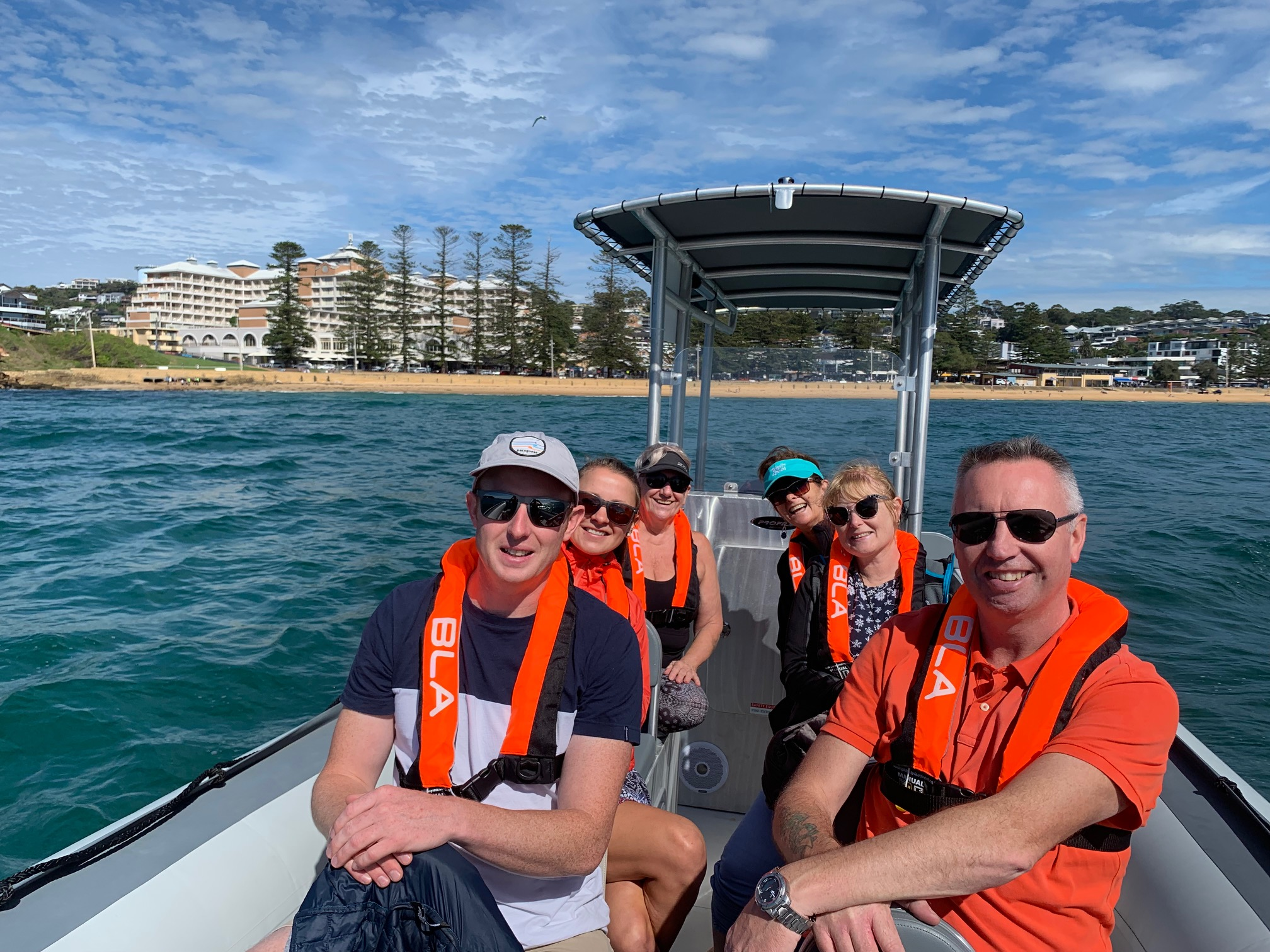 Whale Watching at Terrigal