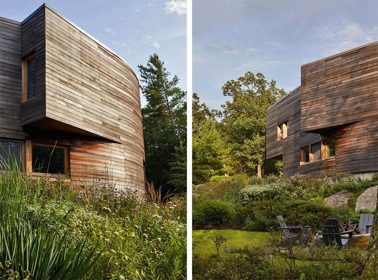 views of garden featured in Dwell Magazine