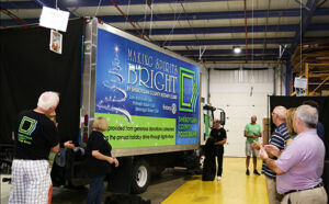 making spirits bright food truck