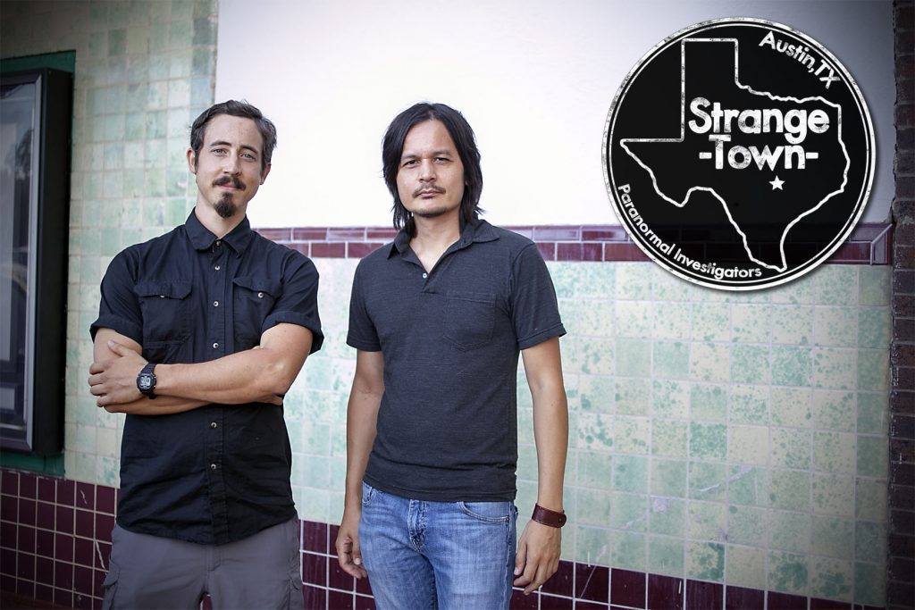 Mark Morrow and Billy Driver of Strange Town