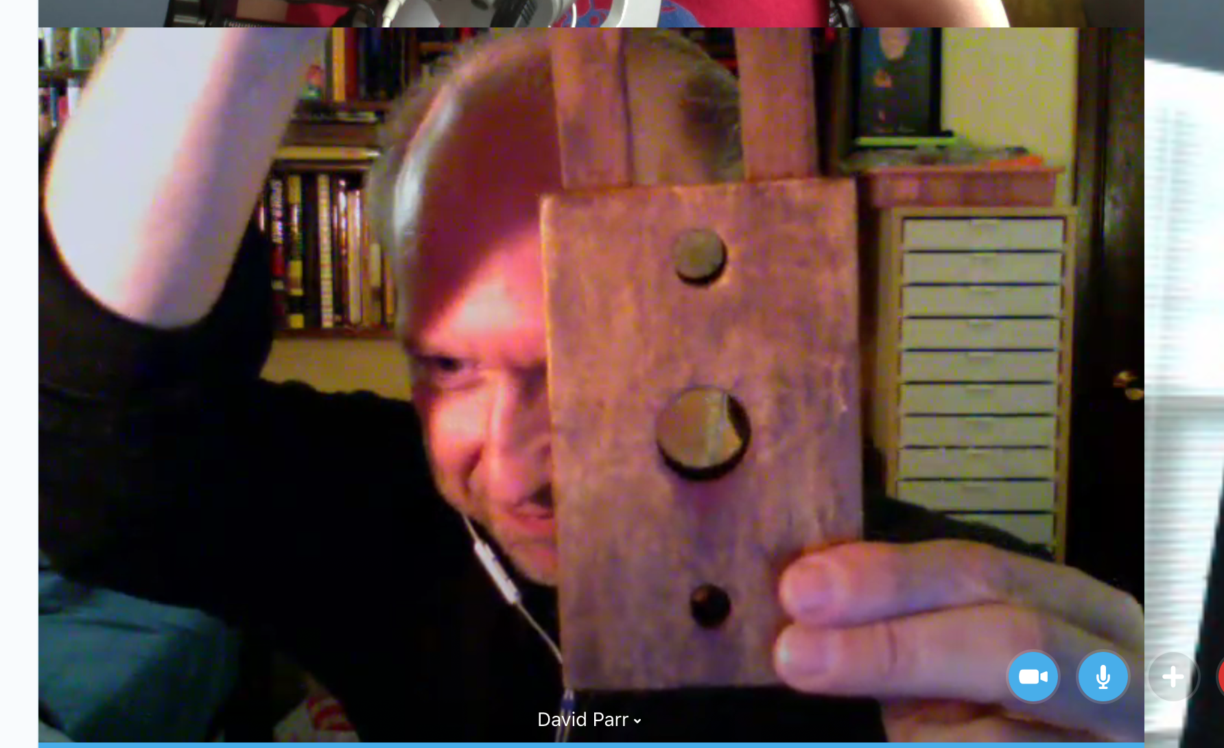 David Parr and the Miniature Guillotine