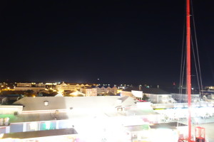 The lights were so damn loud!