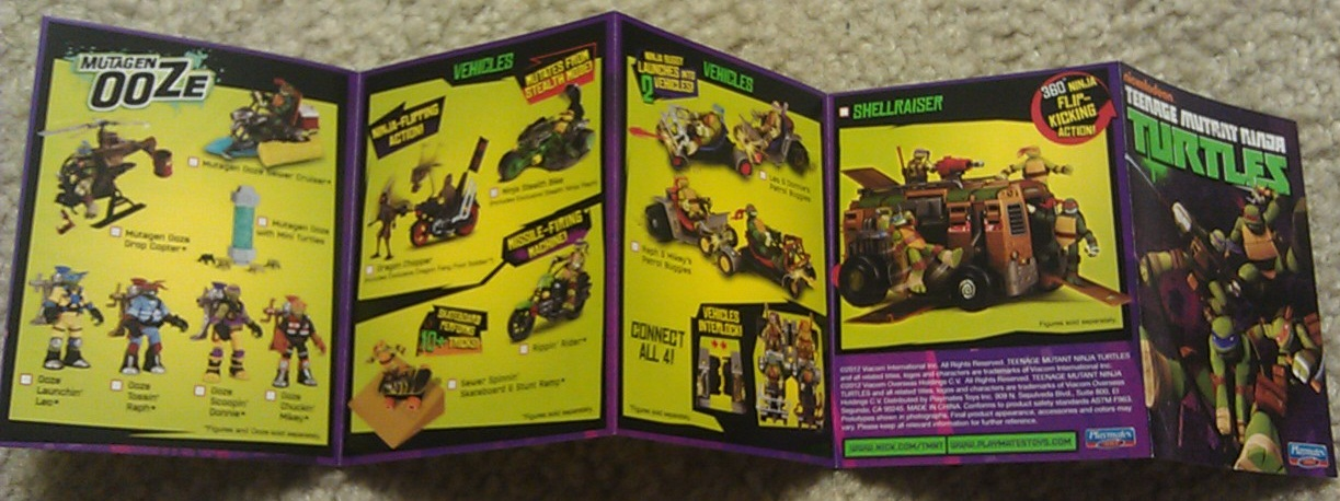 """Toy Review – Teenage Mutant Ninja Turtles """"Anchovy Alley"""" Pop-Up Pizza Playset #TMNT"""