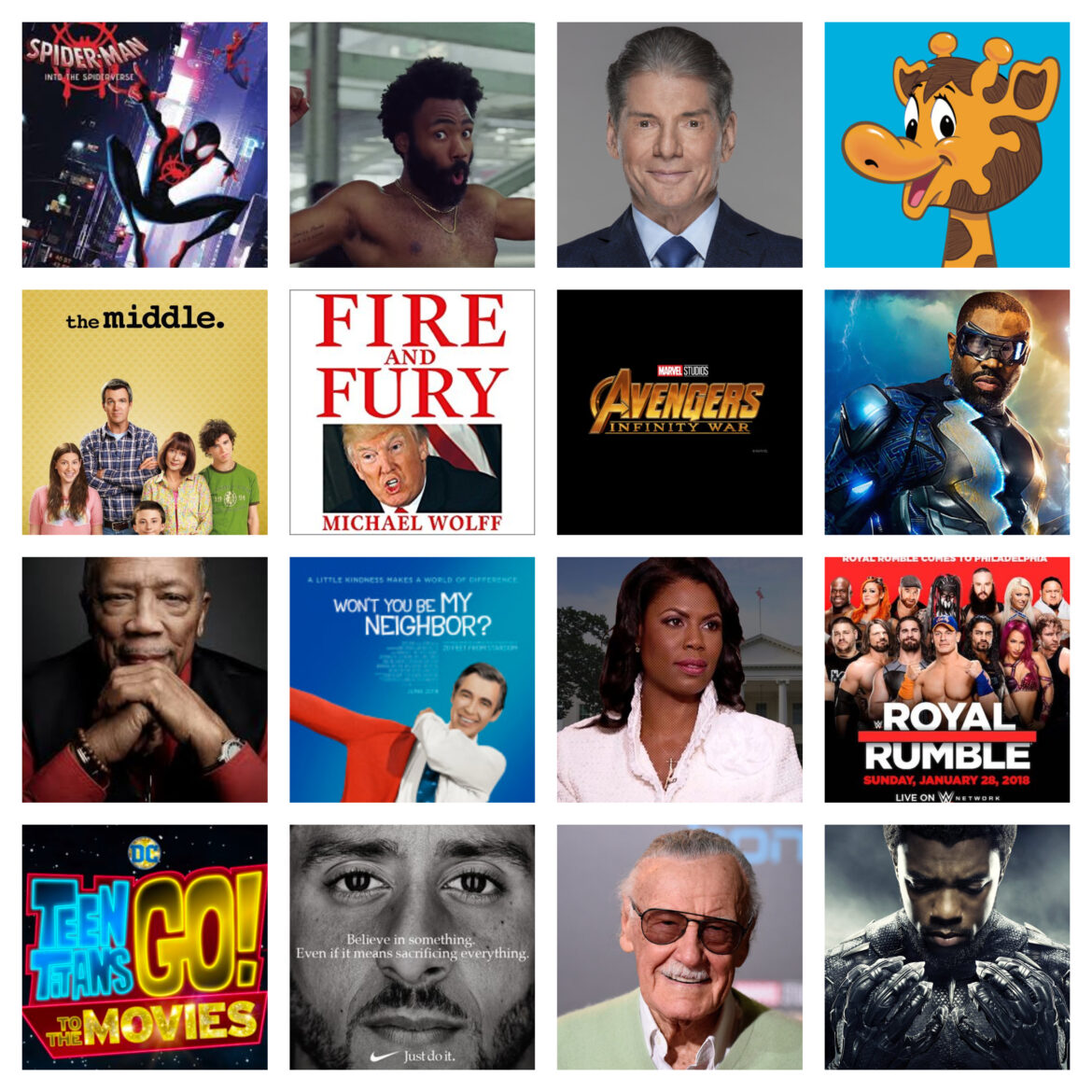 West YEAR Ever: Pop Culture In Review – 2018
