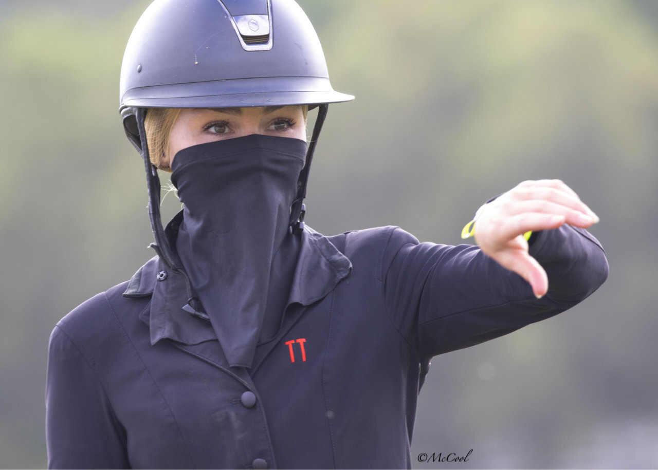 Facemask with Corgi