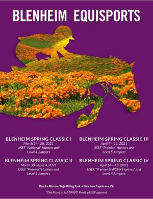 Spring Prize List