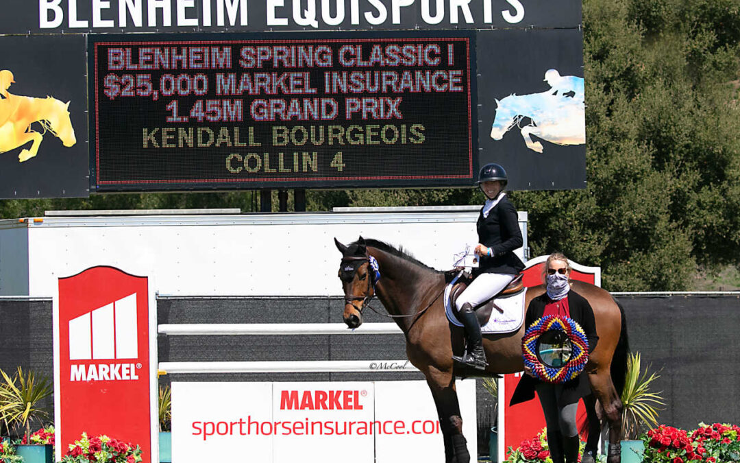 2021 Blenheim EquiSports Season Kicks Off With The Spring Classic 1 $25,000 1.45m Markel Insurance Grand Prix