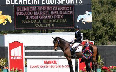 2021 Blenheim EquiSports Season Kicks Off With The Spring Classic 1 $25,000 1.45m Markel Insurance Grand Prix