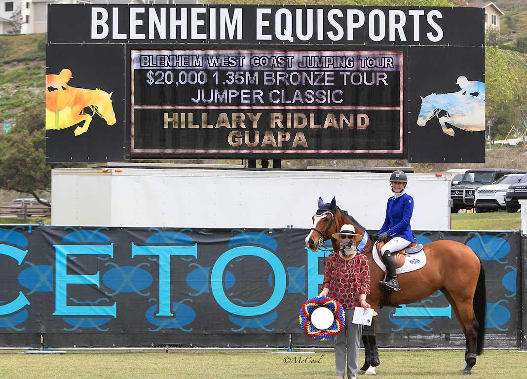 Hillary Ridland and Guapa