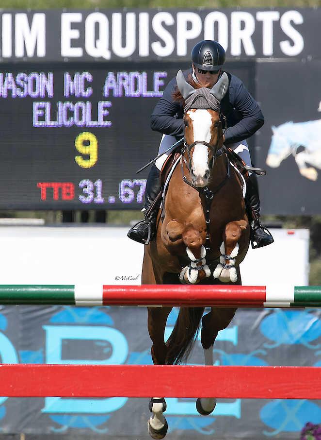 Jason McArdle and Elicole