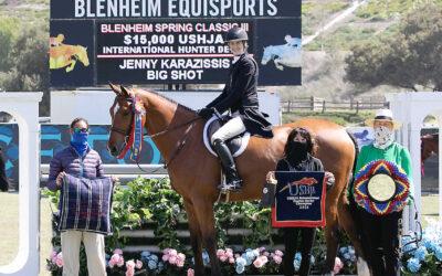 Big Wins at Blenheim for Big Shot and Jenny Karazissis