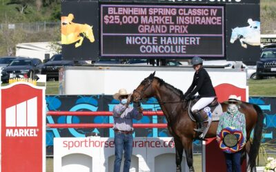 Nicole Haunert and Concolue Jump to Victory at Blenheim EquiSports Spring Classic IV