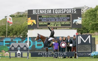 Bruno Diniz Das Neves and Adele XIII are Best in the $75,000 Interactive Mortgage Grand Prix