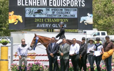 Avery Glynn Gets the Win in the American Tradition of Excellence Equitation Challenge, Presented by Whitethorne