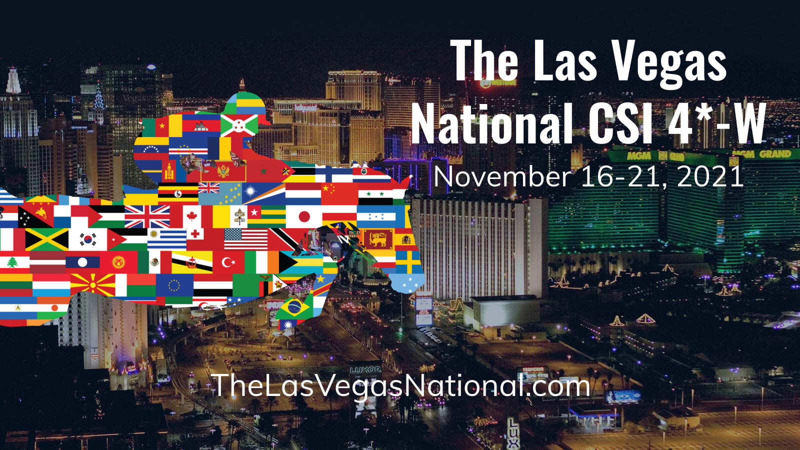 Las Vegas National 2021 Banner