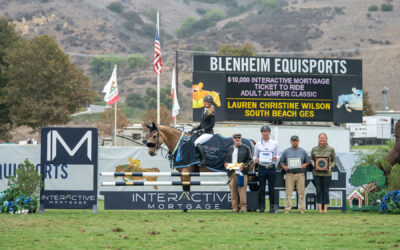 """Lauren Christine Wilson and Jennifer Elliott Earn Wins in $10,000 Interactive Mortgage """"Ticket to Ride"""" Adult Jumper Classic"""