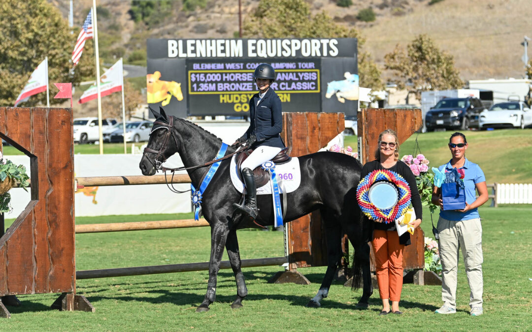 16-Year-Old Hudsyn Horn is Best in $15,000 Blenheim Bronze Tour Classic
