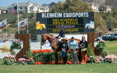 Jayme Omand Goes to Top of Leaderboard in Foxfield Medal Final