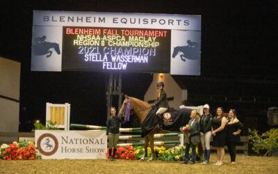 Stella Wasserman Wins NHSAA/ASPCA Maclay Region 8 Championship