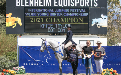 Katie Taylor and Dot Com Crowned Champions in $10,000 Blenheim EquiSports Young Hunter Finale
