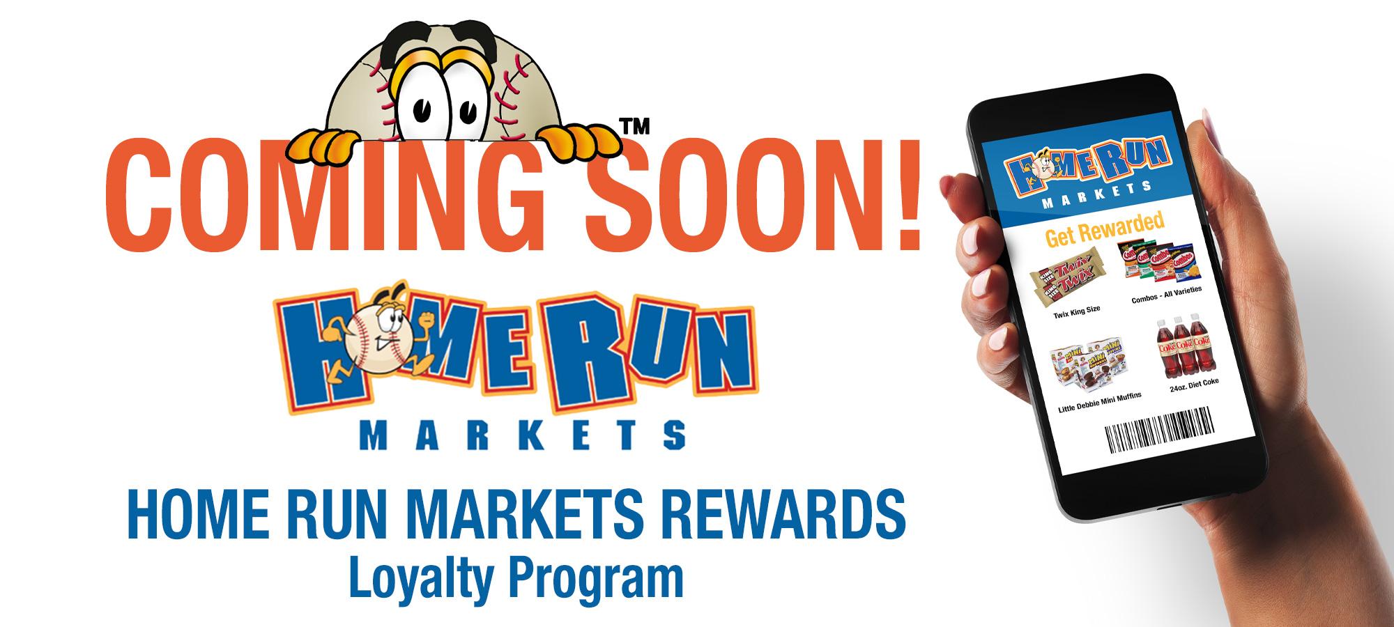 Home Run Markets Rewards