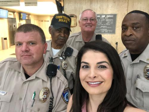 Hanging with Court Police