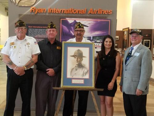 Honoring a WWII Hero