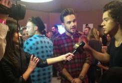Interviewing Members of One Direction
