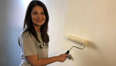Repainting Salvation Army Bedrooms