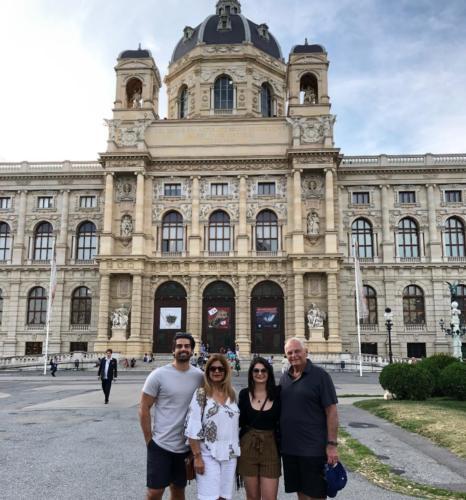 Sightseeing in Vienna