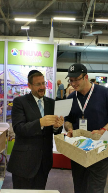 Tnuva Raffle at Celebrate Israel Festival in NYC