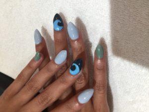 Multi Color Nails