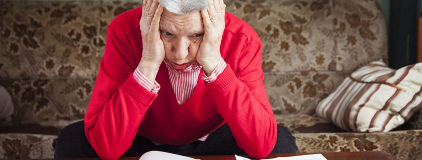 Fraud affecting senior woman