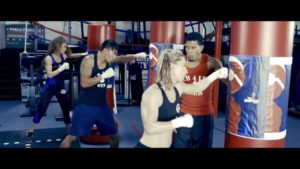 LB4B Boxing Training In The Gym