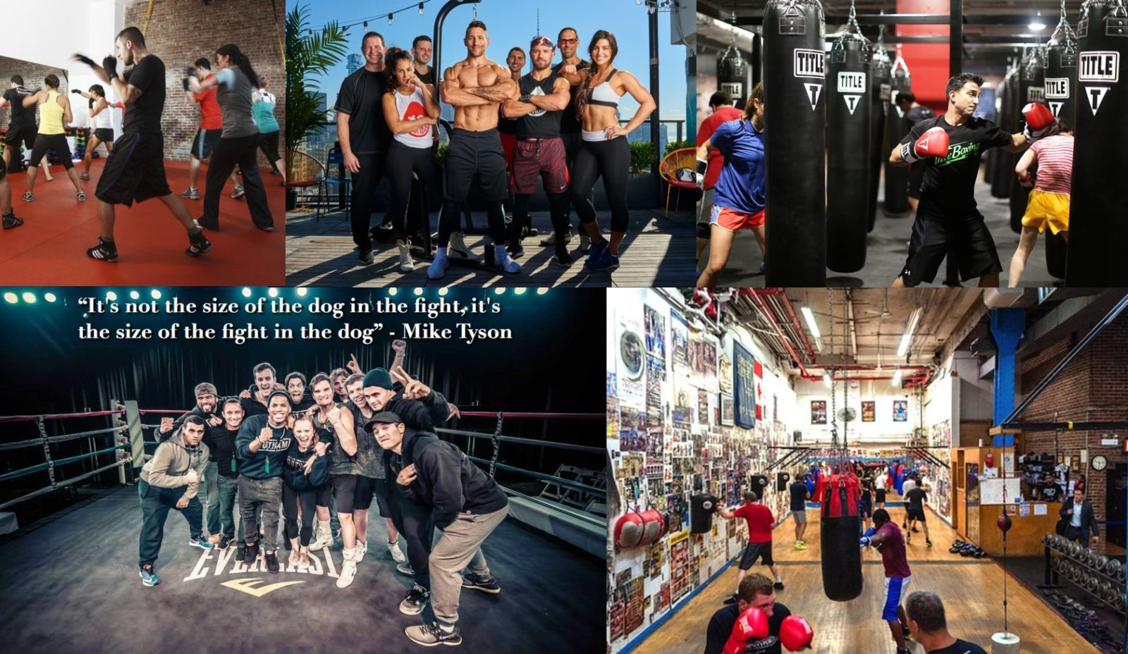 Best Reviewed Boxing Gyms In NYC