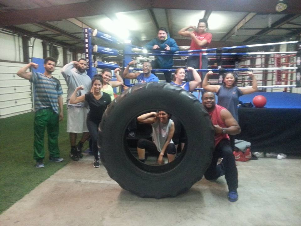 No Limit Boxing Gym Wilmington NC Tire and Ring