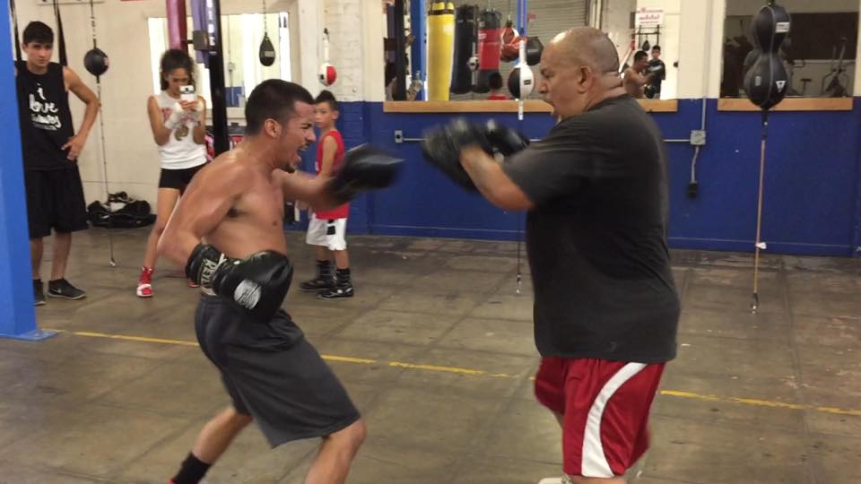 Exhibition Sparring at Main Event Gym Fresno