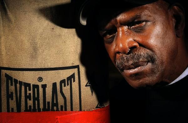 Ron Lyle at Salvation Army Gym