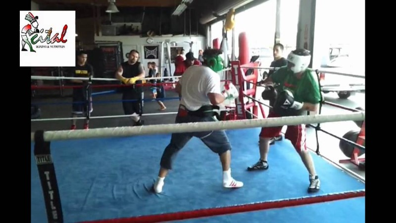 Cital-Boxing-Club-Sparring-In-The-Ring