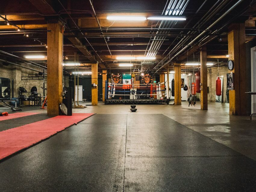 Seattle Boxing Gym Inside