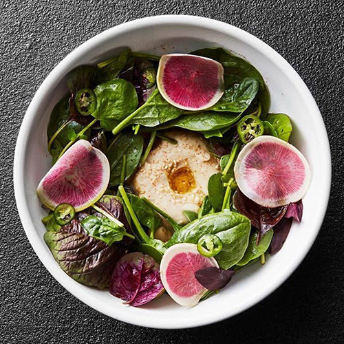 white chena-cosme-salad