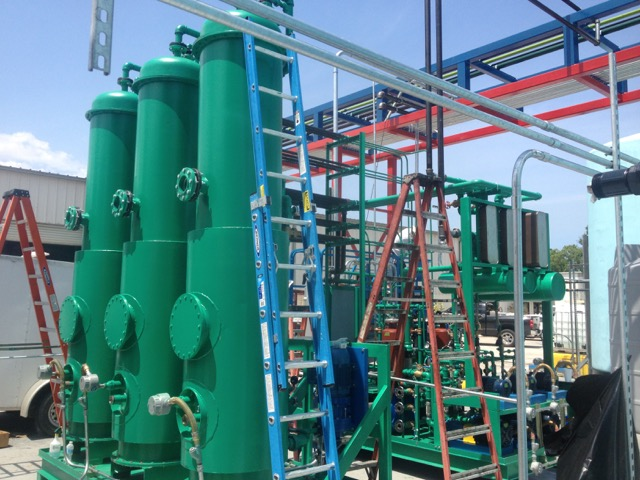 Methanol recovery system