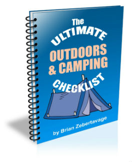 outdoors and camping e-book cover
